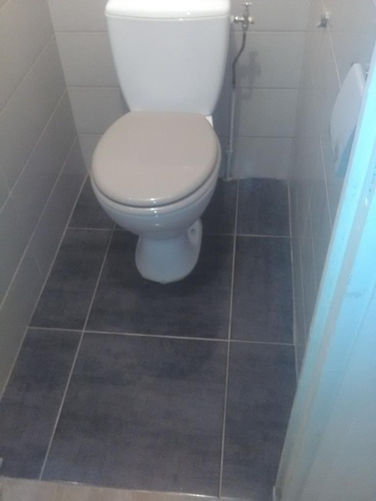 carrelage sol wc great toilettes carrelage mur noir sol parquet wc suspendu idealsoft with. Black Bedroom Furniture Sets. Home Design Ideas